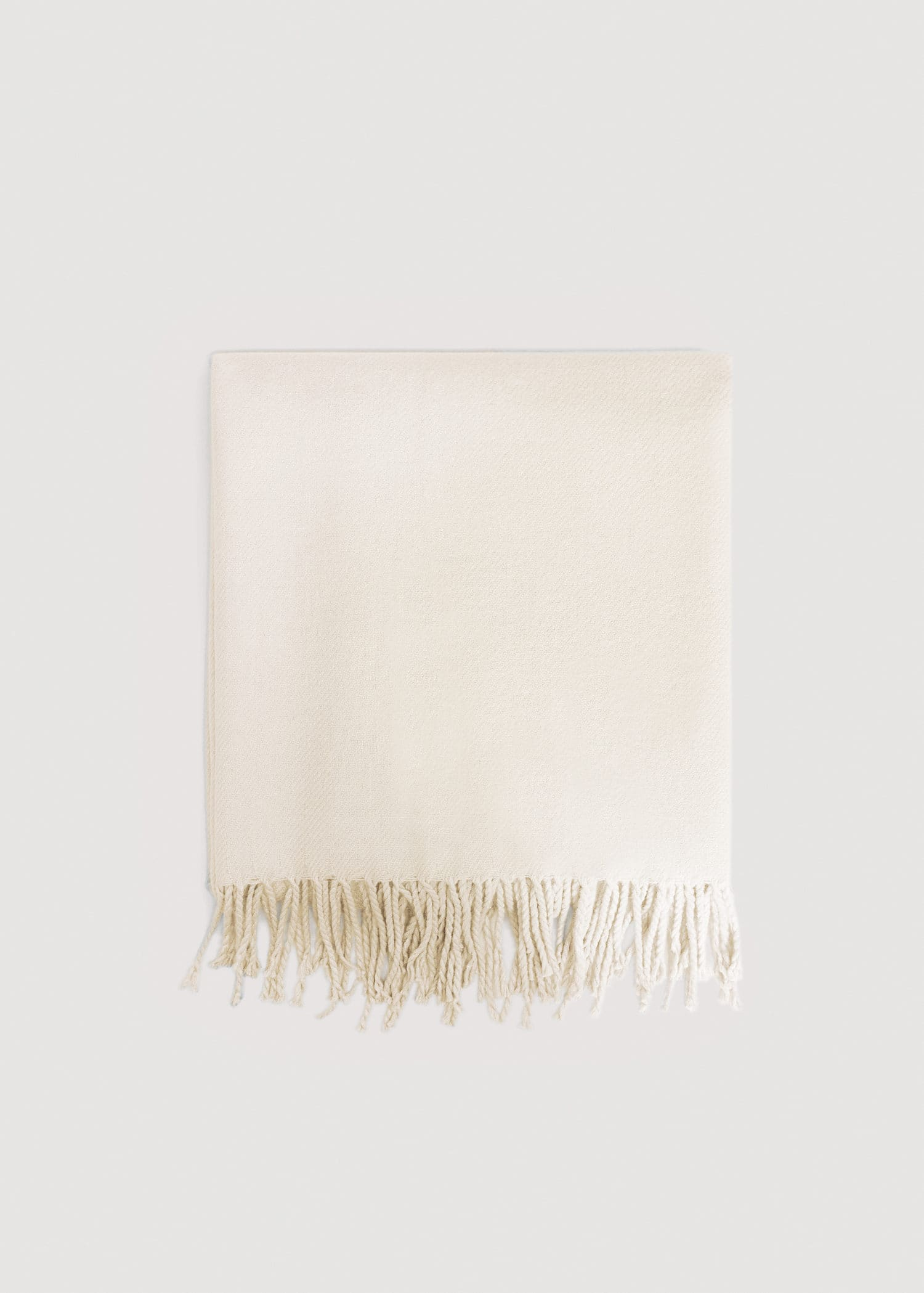 Fringed Edge Scarf by Mango