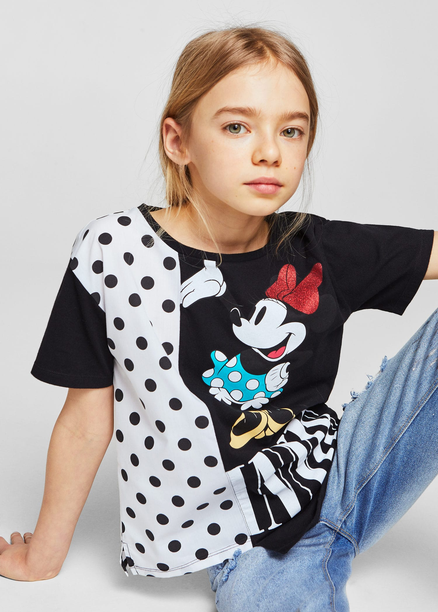 TS MANGAS CORTAS MINNIE MOUSE