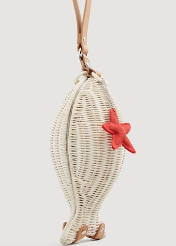 Fish Bamboo Bag Woman Mango Slovenia