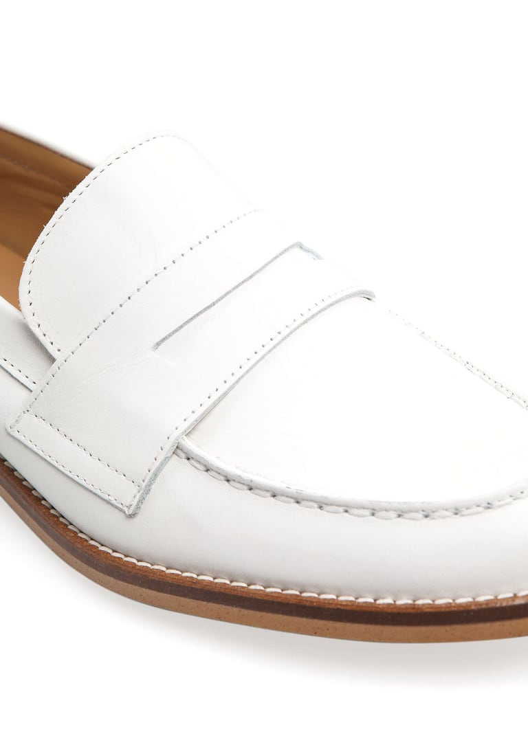 91bce6c8c6f Leather penny loafers - Women