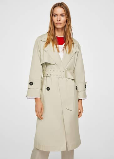 Pildiotsingu Belt cotton-blend trench REF. 23055010 tulemus