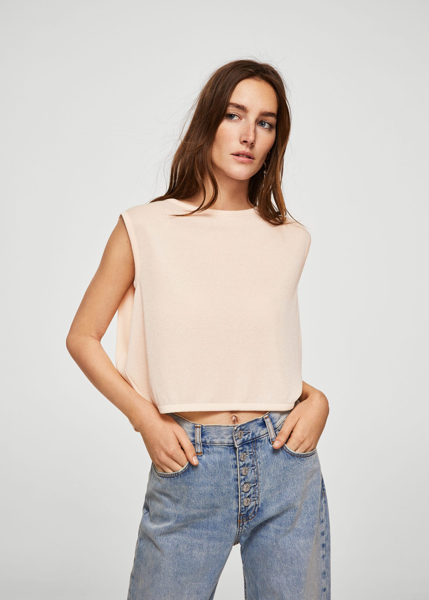 Cropped layer top