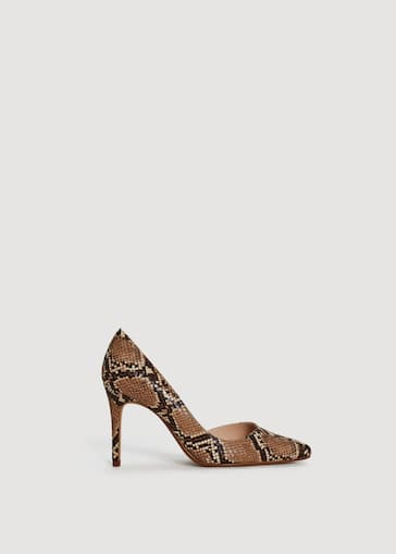4ddf88693a Snake-finish pumps - Women | Mango United Kingdom