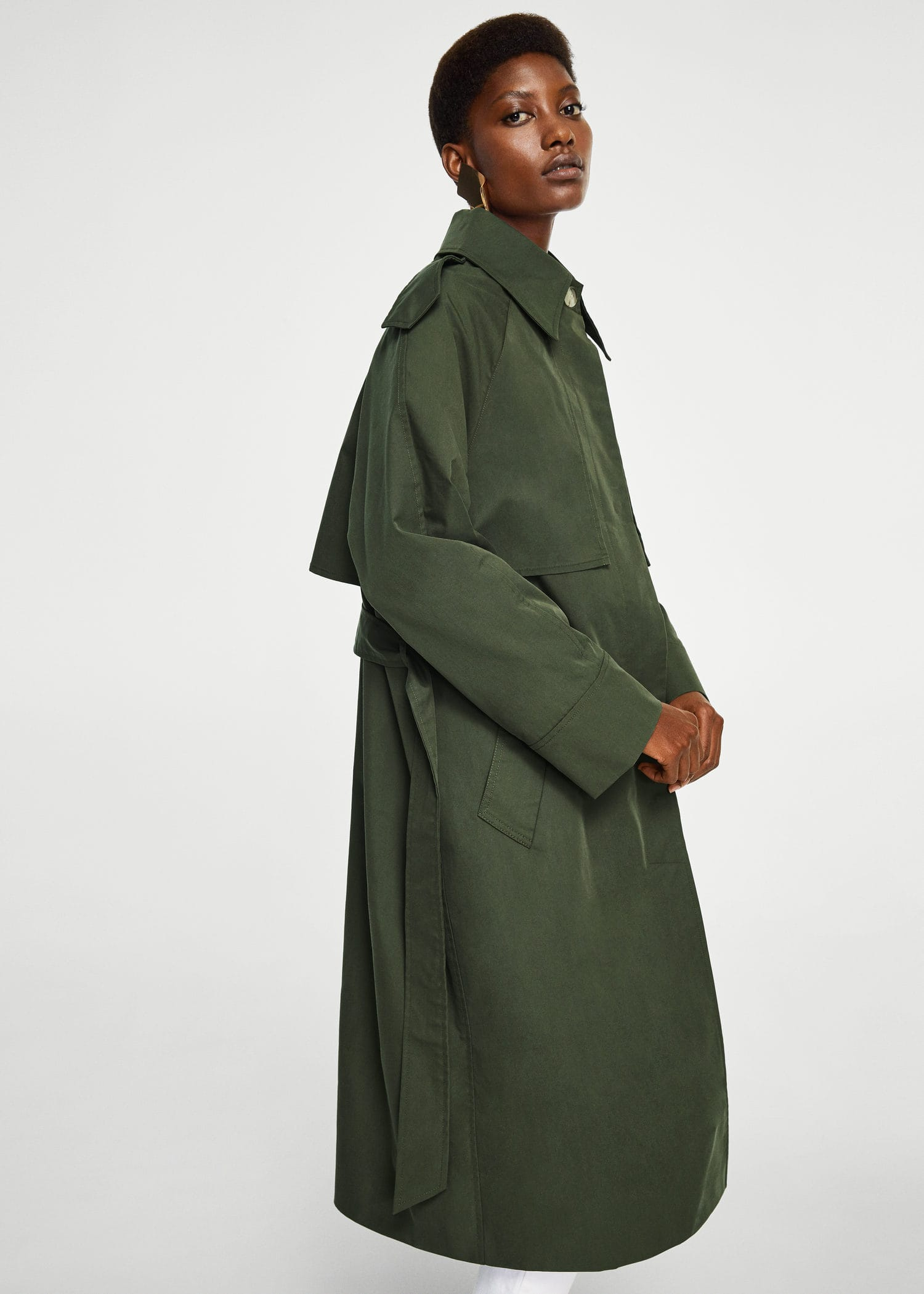 Trench Style Militaire by Mango