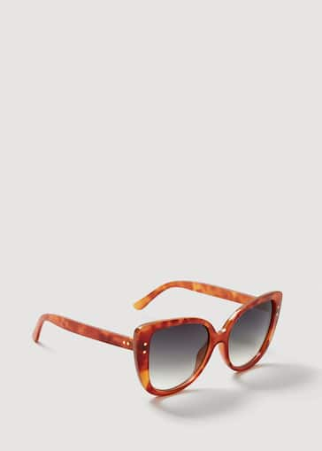 b2f253c4b797 Tortoiseshell retro sunglasses - Woman | Mango Lithuania