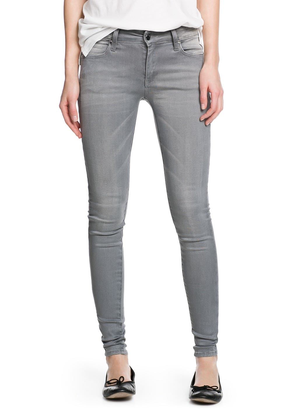 Super slim-fit elektra jeans | MANGO KIDS