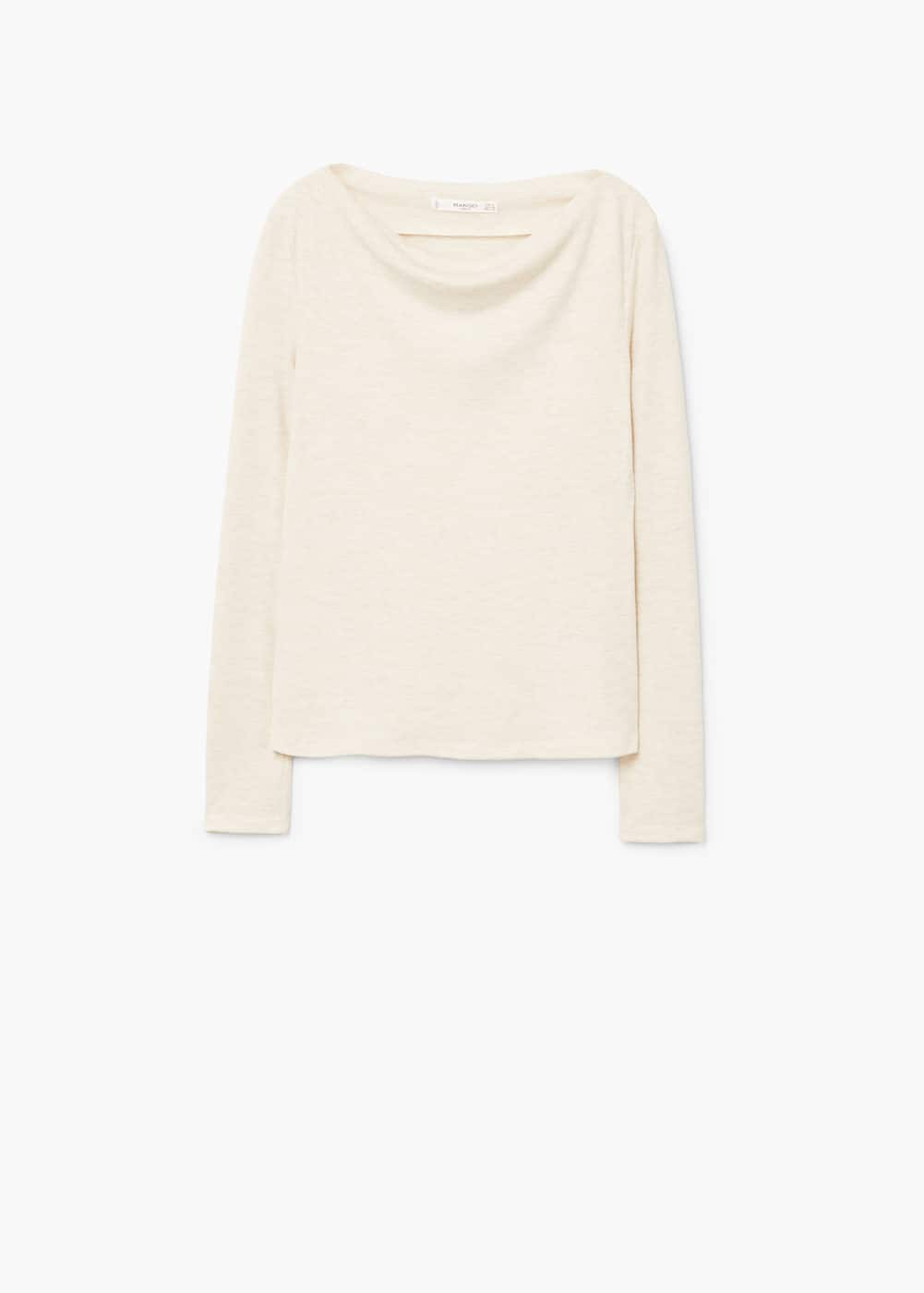Flecked t-shirt | MANGO
