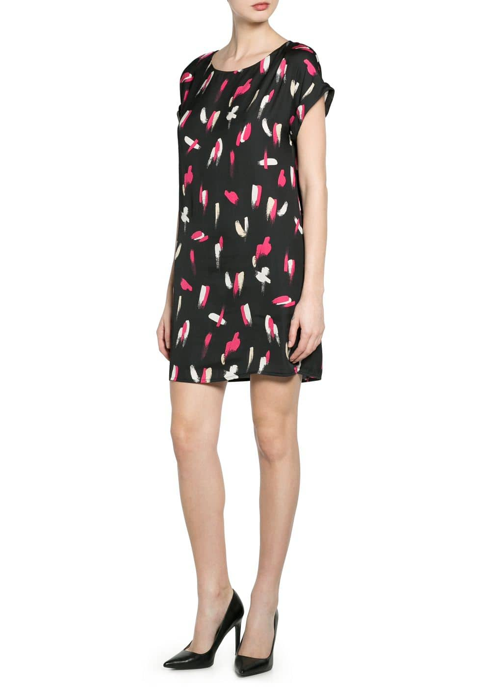 Paint print dress | MANGO