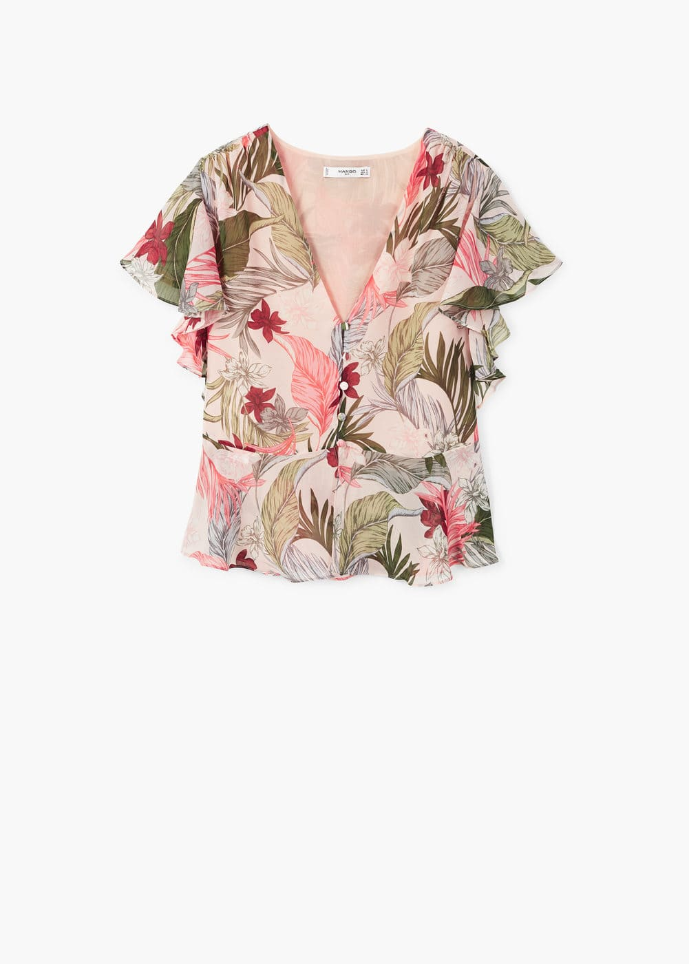Blusa Stampa Floreale by Mango