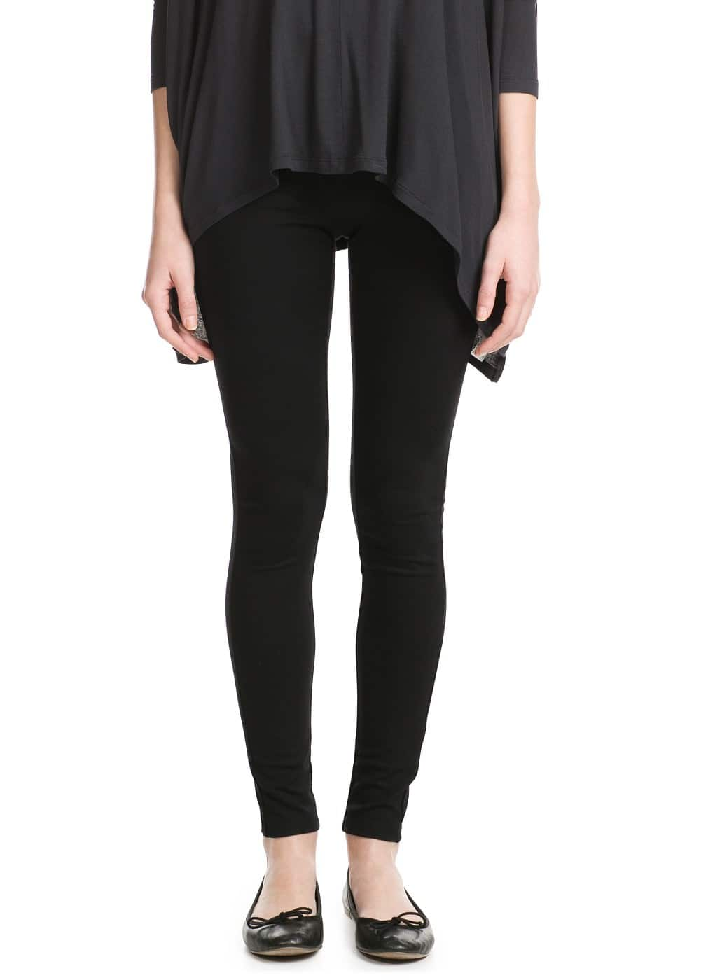Zip leggings | MANGO