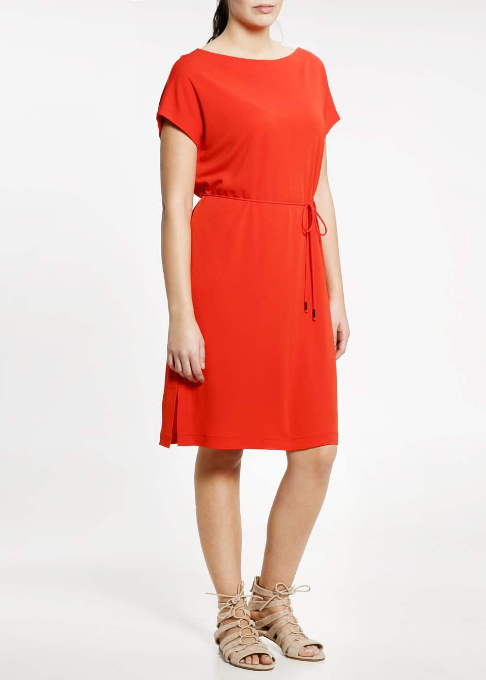 Belted flowy dress | MANGO
