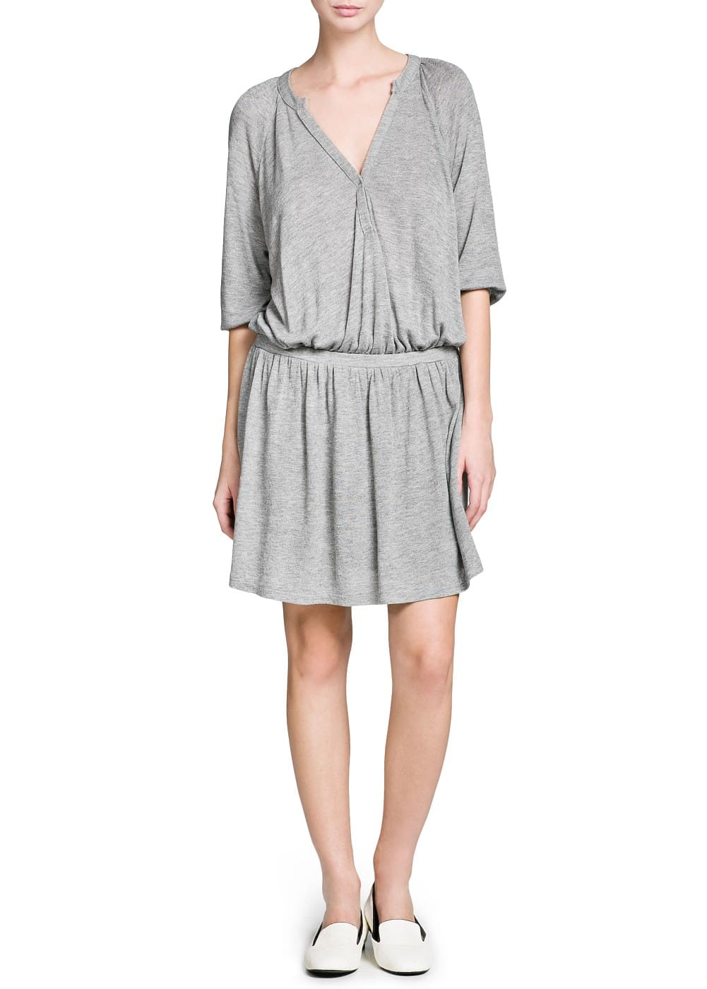 Loose-fit jersey dress | MANGO MAN