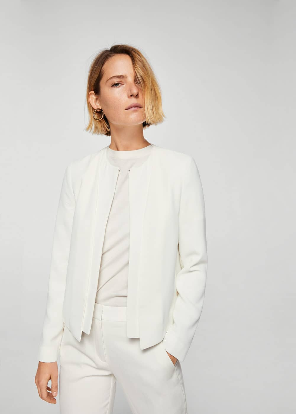 Double-layer jacket | MANGO
