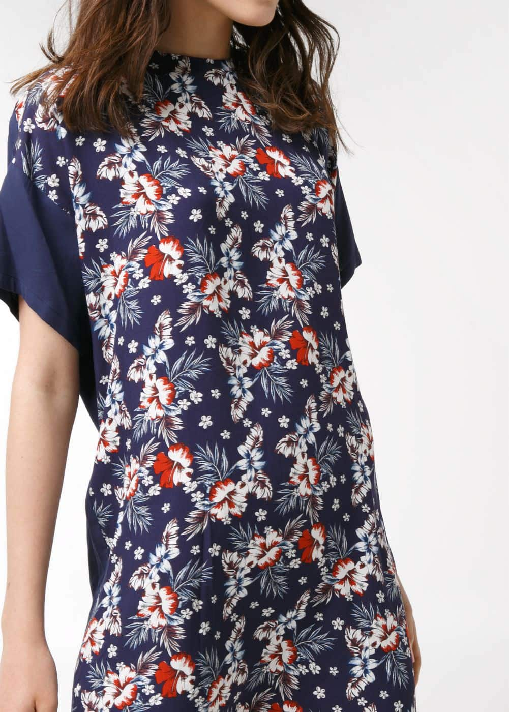 Floral shift dress | MANGO