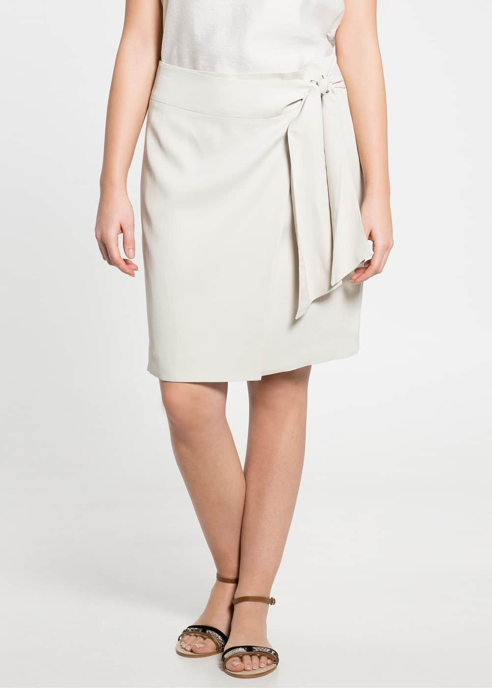 Bow skirt | MANGO