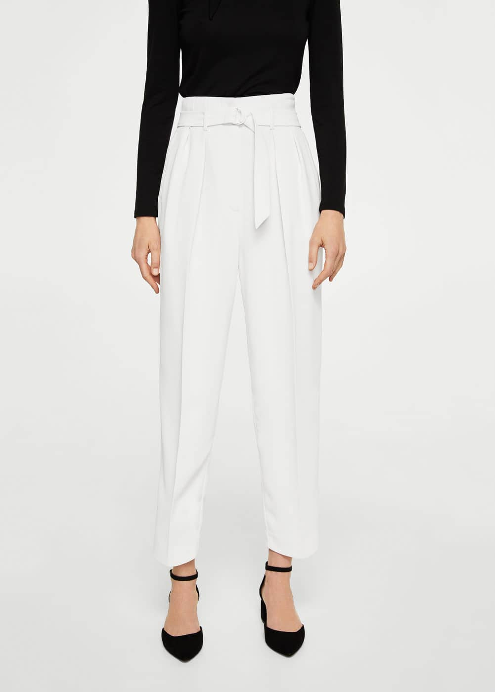 Pleat detail trousers | MNG