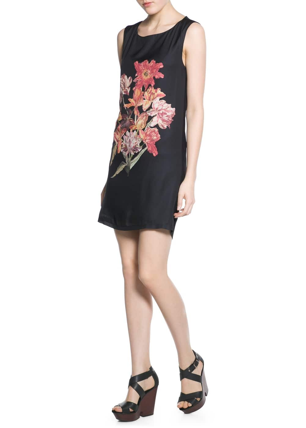 Floral print dress | MANGO MAN