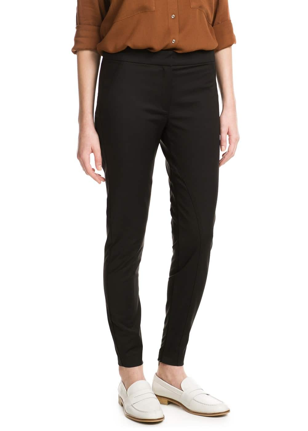 Slim-fit riding trousers | MANGO