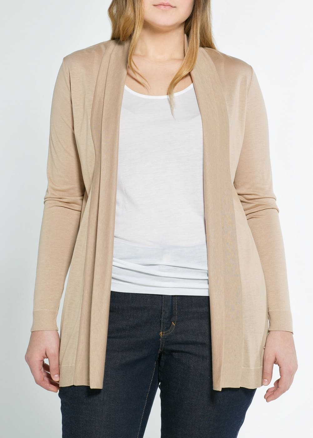 Cotton blend-jacket | MANGO