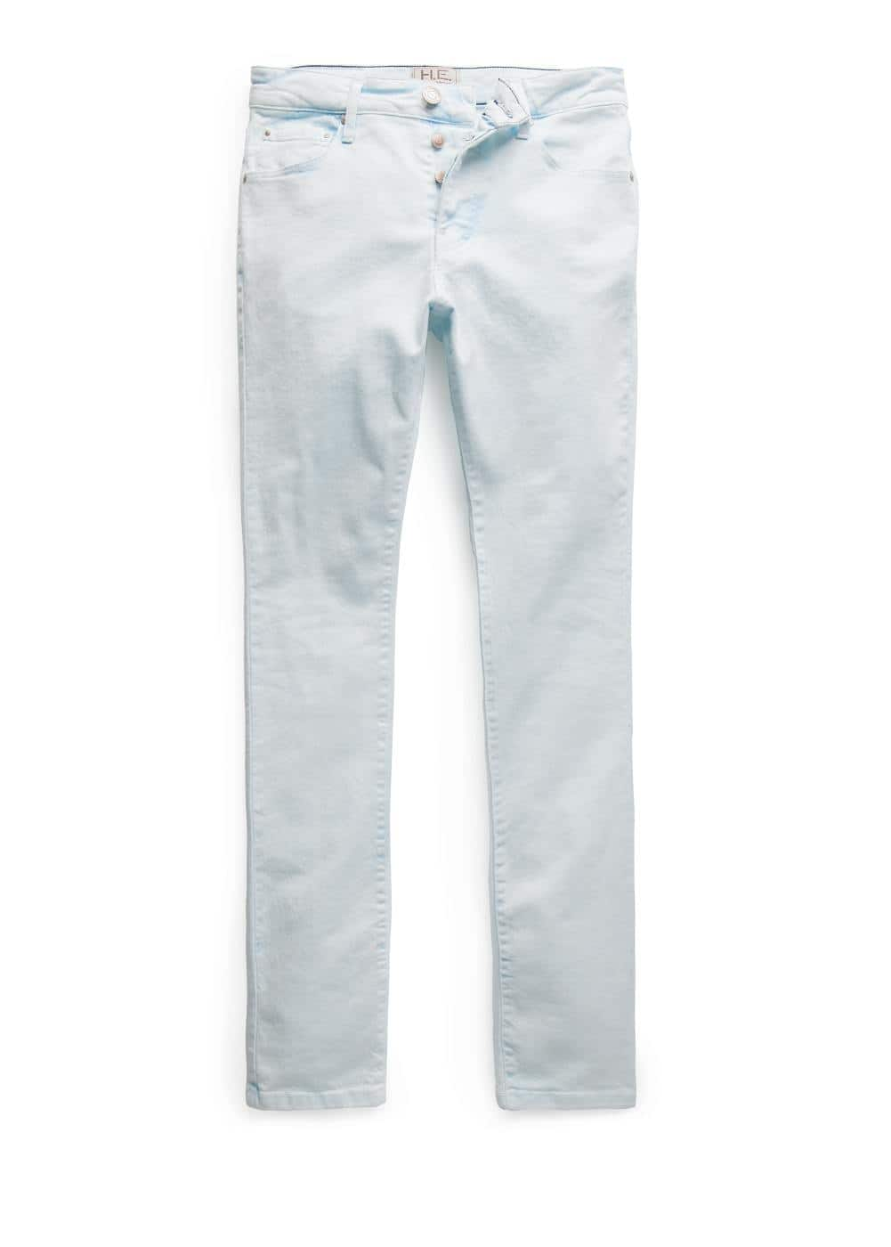Slim-fit bleach wash tim jeans | MANGO