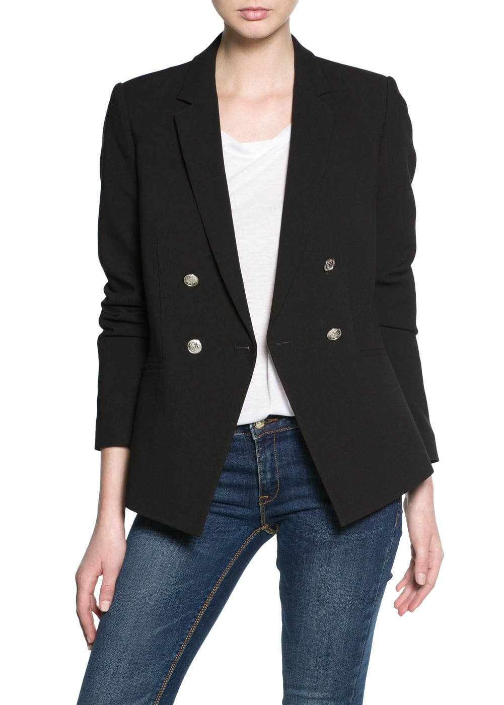 Double-breasted blazer | MANGO KIDS