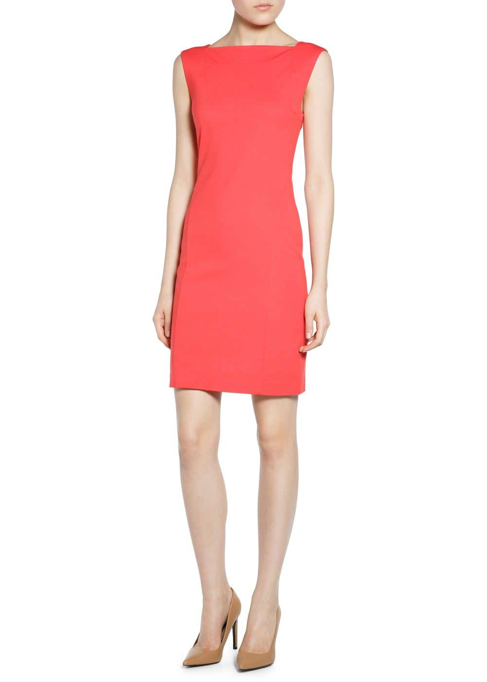 Zip bodycon dress | MANGO