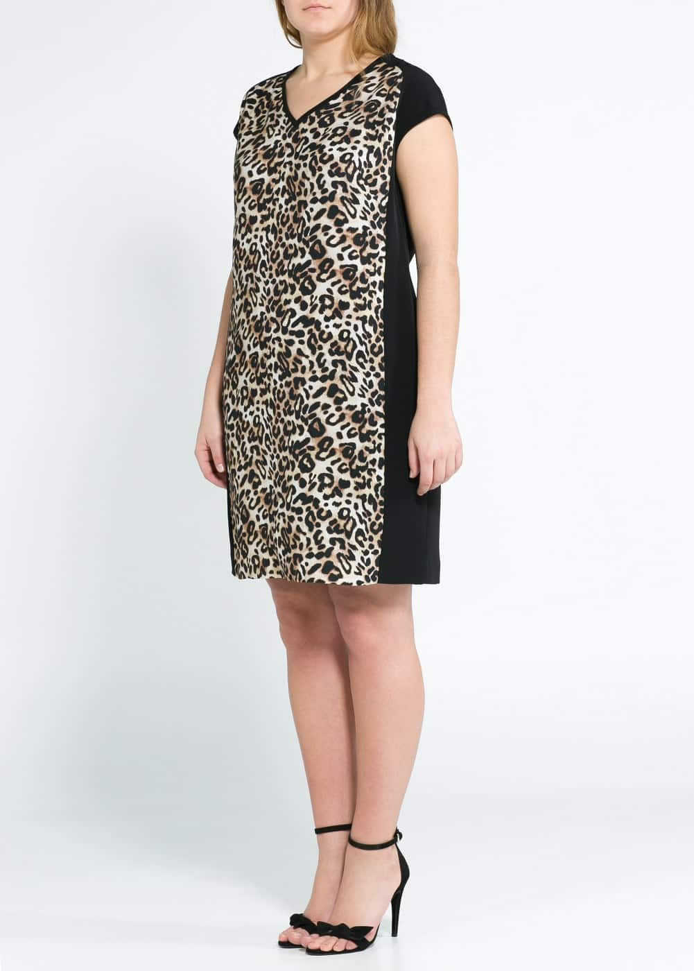 Leopard shift dress | MANGO