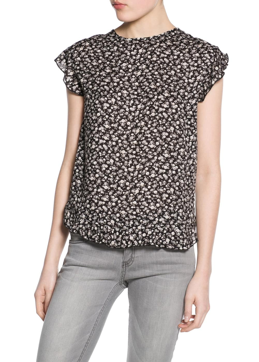 Top estampat floral | MANGO