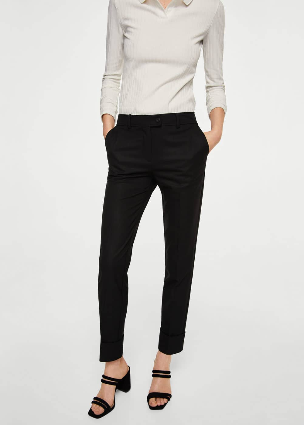 Straight suit trousers | MNG