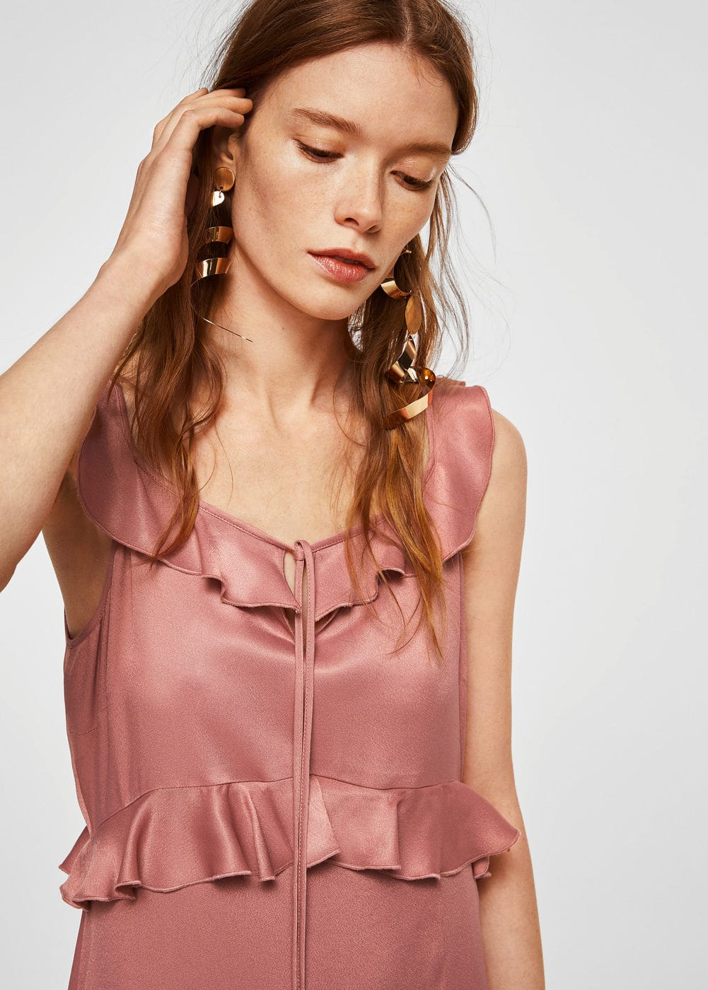 Ruffle gown | MNG