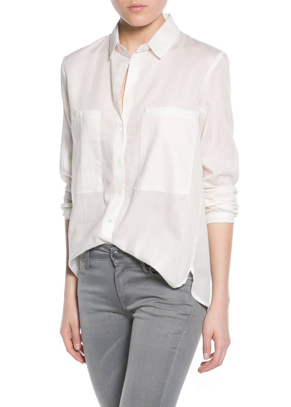 Patch pocket shirt | MANGO
