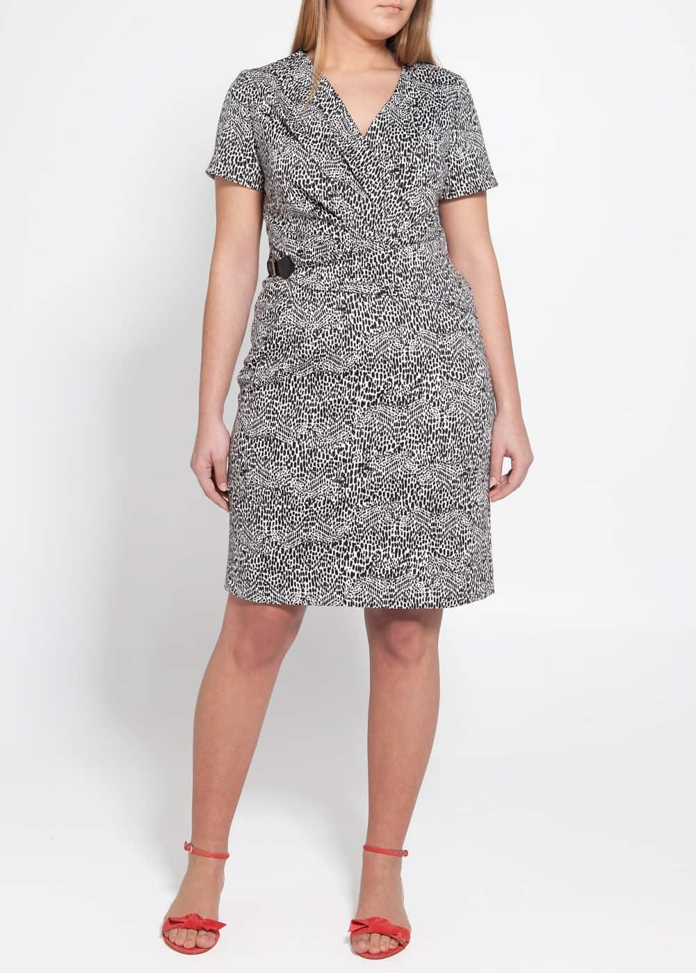Buckle printed dress | MANGO