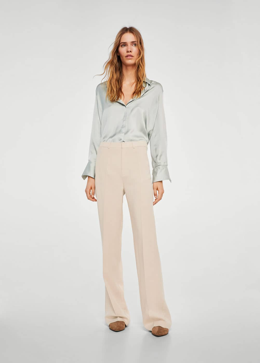 Straight suit trousers | MANGO