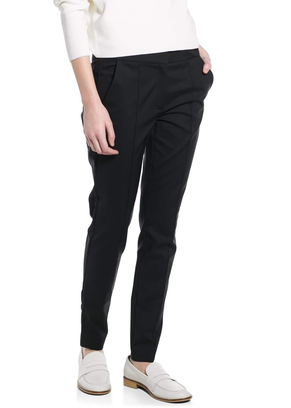 Slim fit stretchhose | MANGO