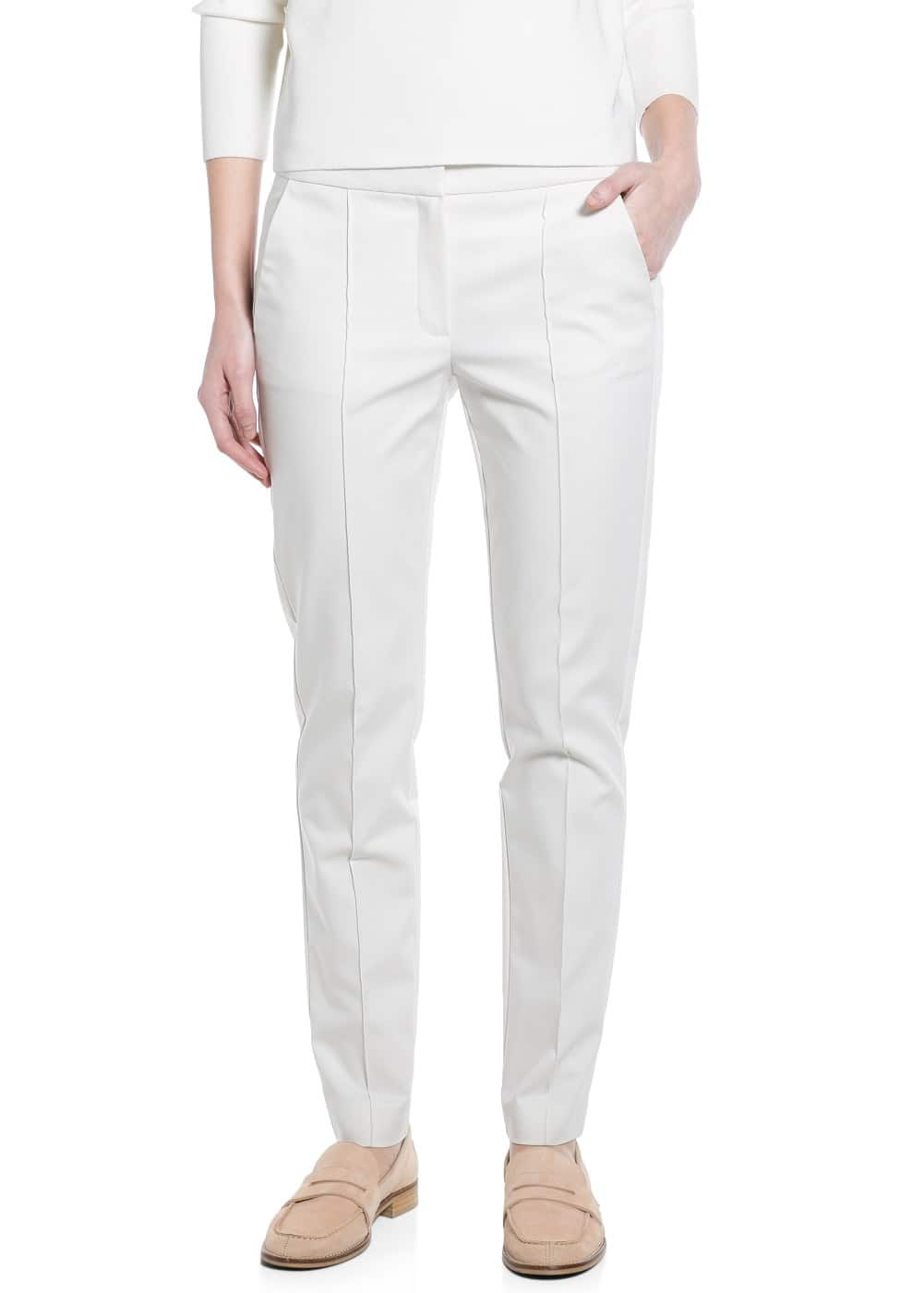 Slim-fit stretch trousers | MANGO