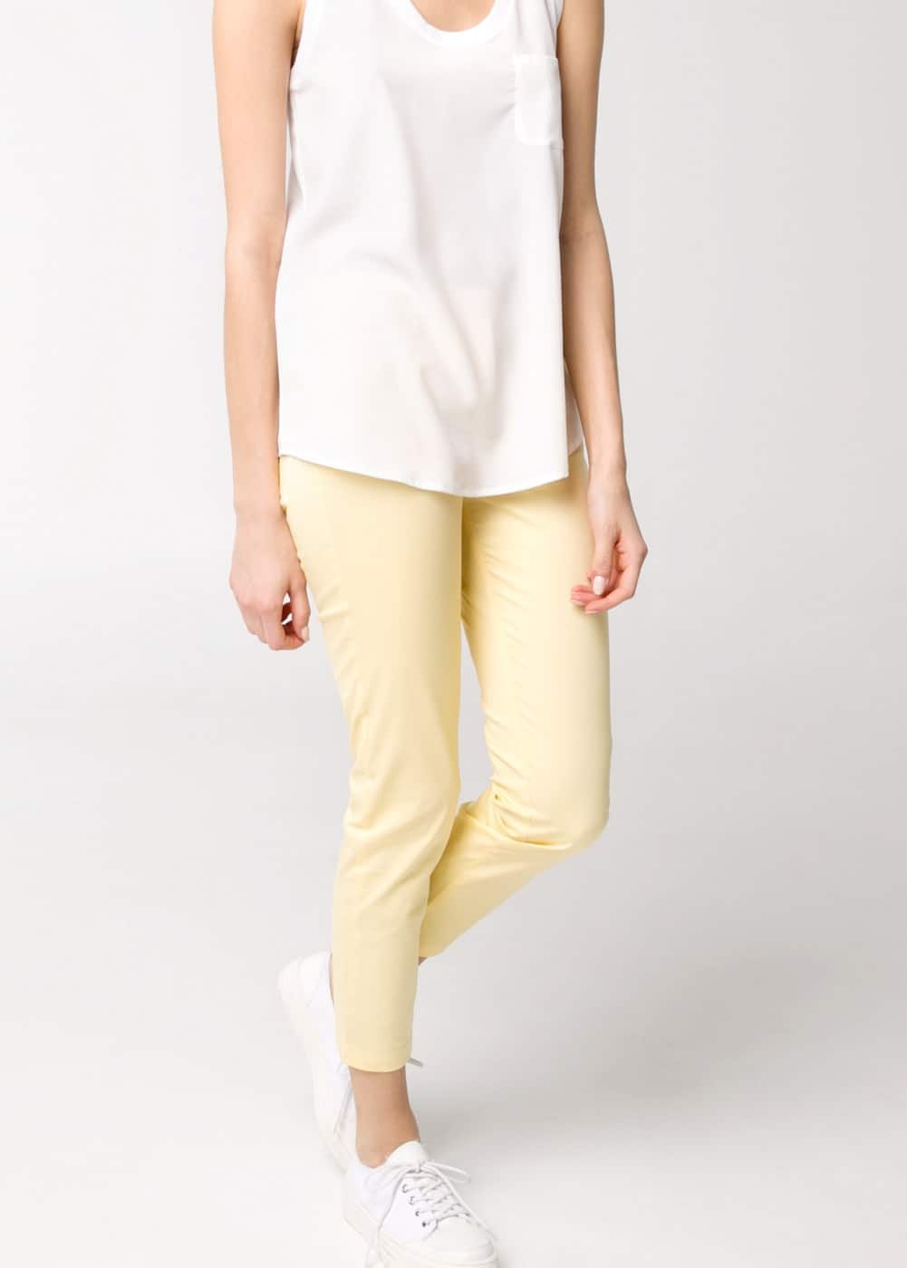 Pantalon cigarette cropped | MANGO