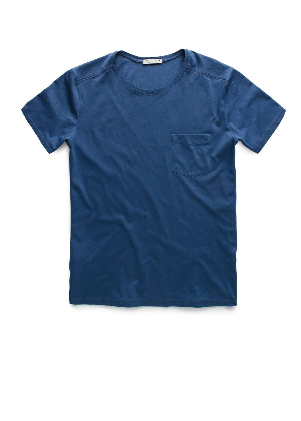 Chest-pocket t-shirt | MANGO