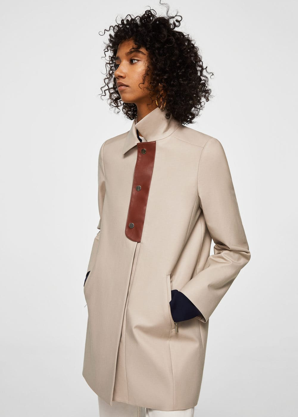 Sale alerts for  Buttons cotton trench - Covvet
