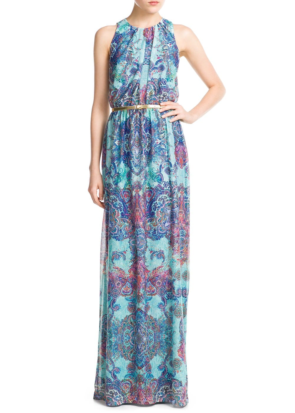 Paisley print dress | MANGO