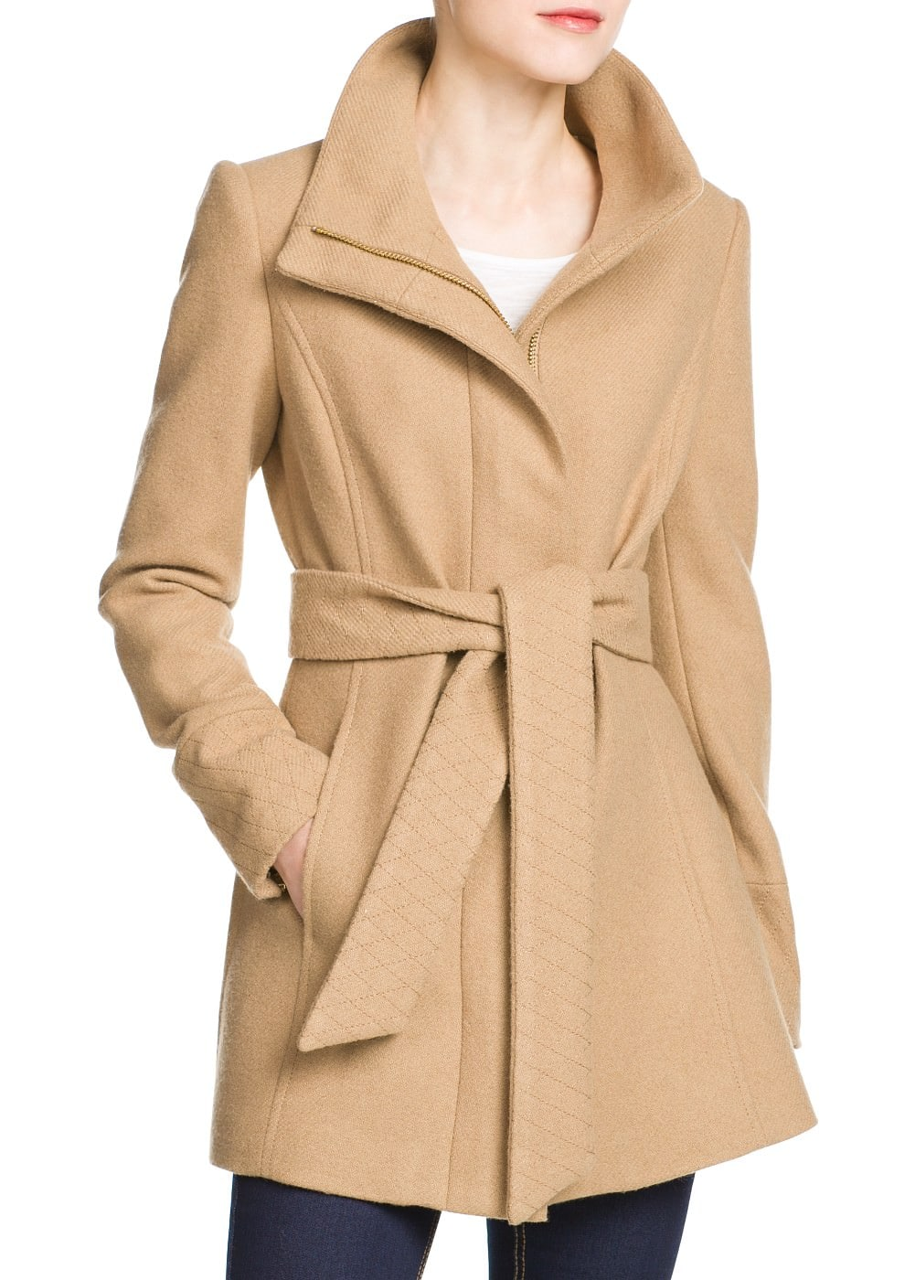 Straight-cut coat | MANGO