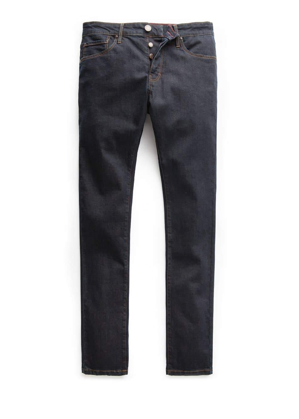 Slim-fit dark tim jeans | MANGO MAN
