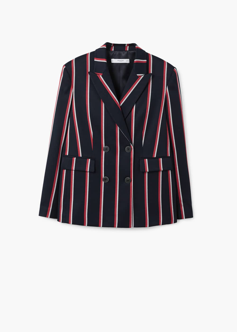 Striped suit blazer | MANGO