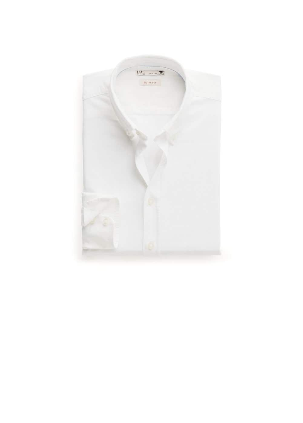 Camisa slim-fit oxford | MANGO