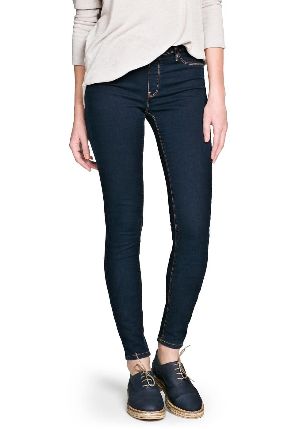 Jeggings oscuros | MANGO