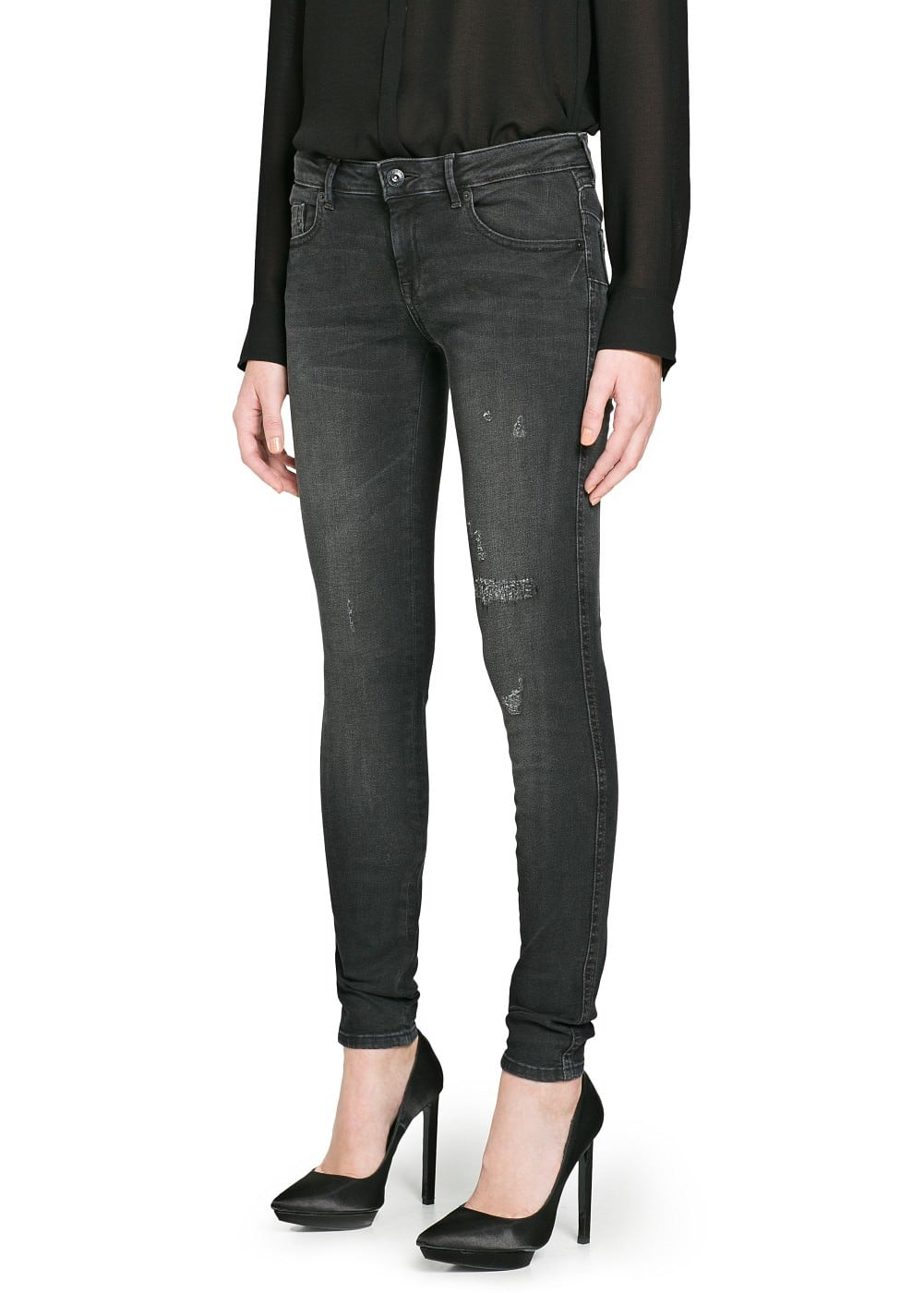 Push-up uptown jeans | MANGO