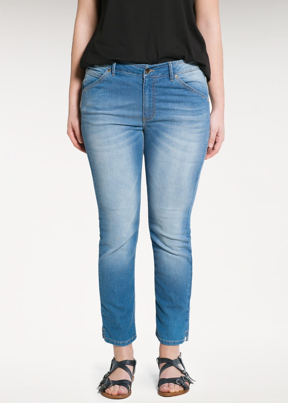 Slim-fit cali jeans | MANGO