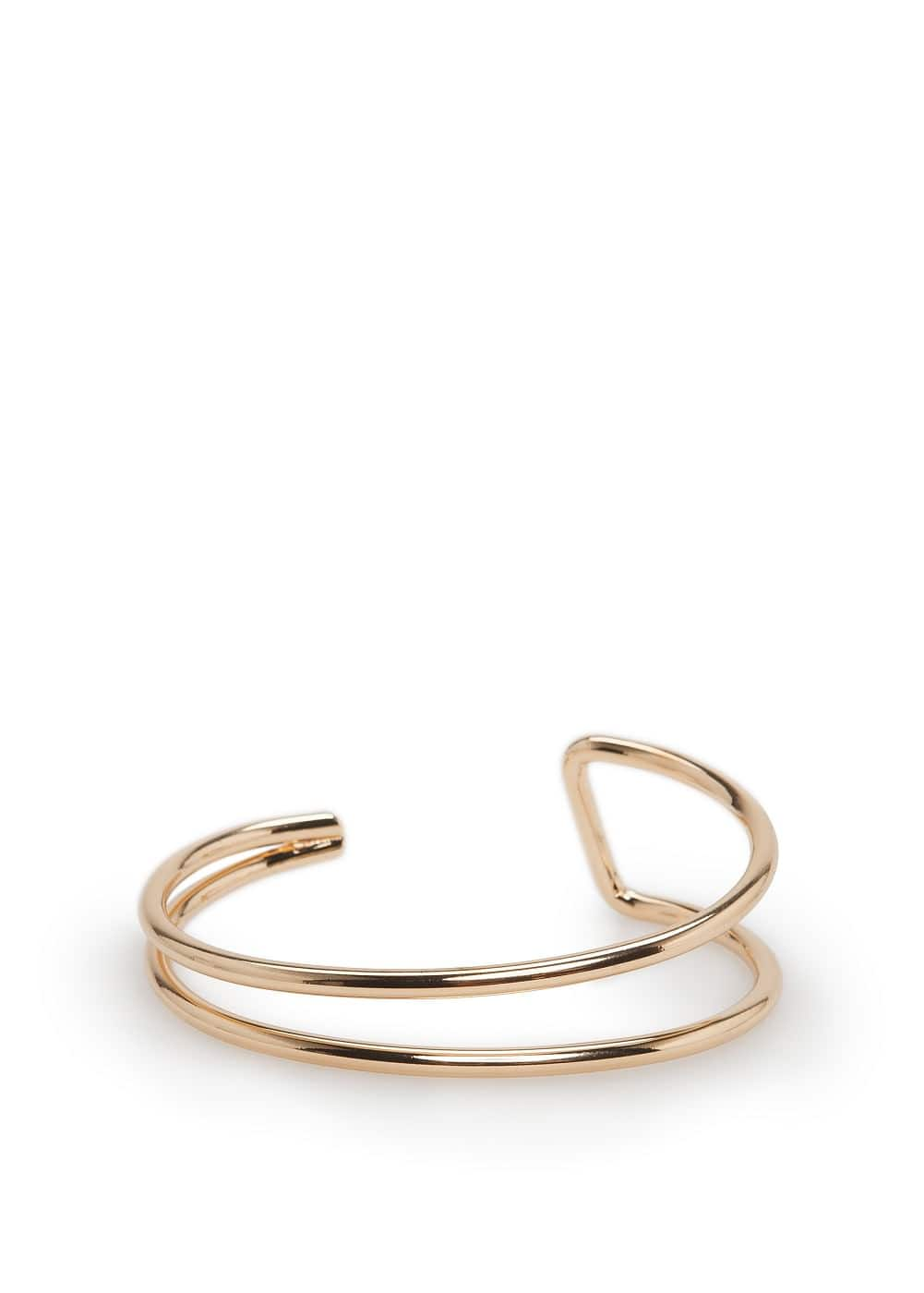 Metal double bracelet | MANGO