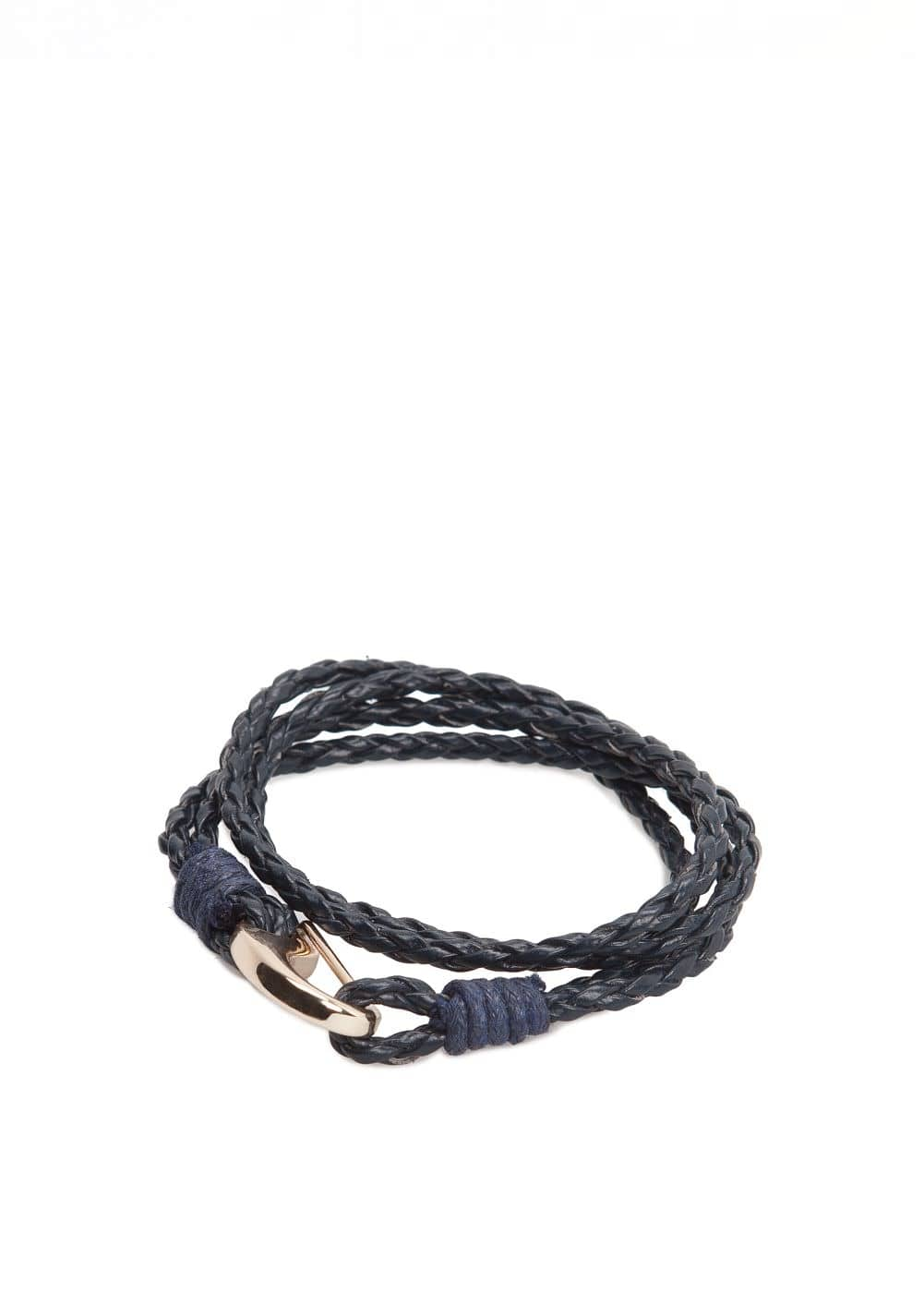 Double braided bracelet | MANGO