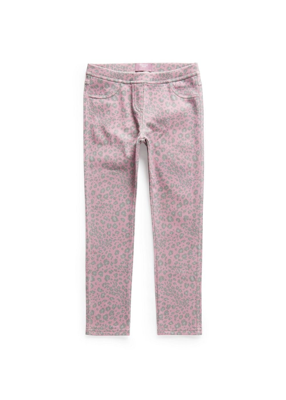 Leopard printed leggings | MANGO KIDS
