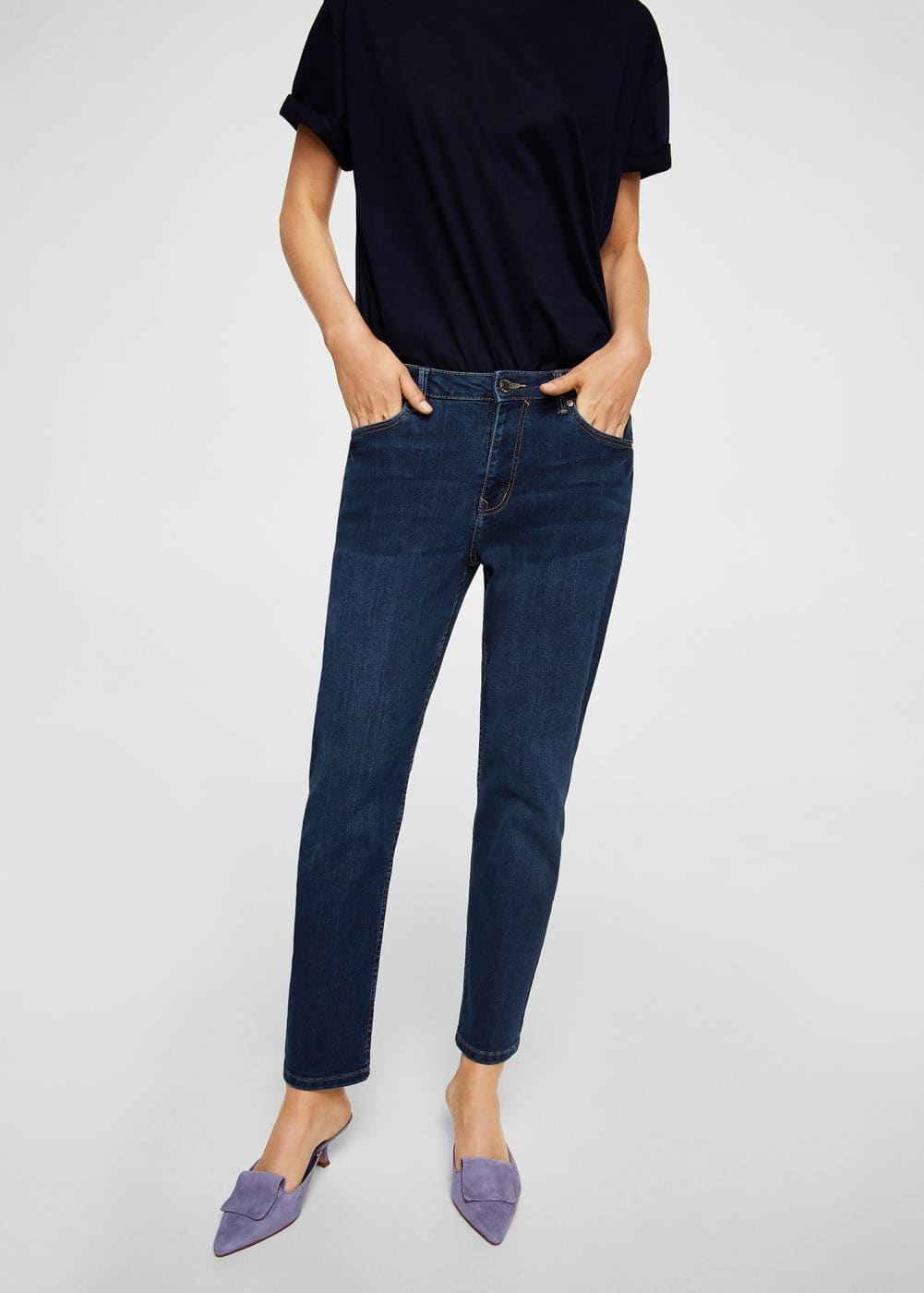 Relaxed lonny jeans | MANGO